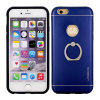 New Motomo TPU+Metal Mobile Phone Cases with Ring Holder