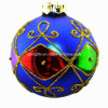2016 Best Selling Charming Christmas Glass Ball/Ornament with Eco-Friendly, All Colors Available