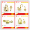 Bag Lock Chinese Style Metal Padlock with Key for Bag Decoration