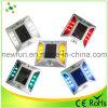 6PCS LED Flashing Solar Reflective Cat Eye Road Stud