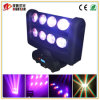 8*10W RGBW 4in1 LED Moving Head Spider Beam Light Infinite Double Layer
