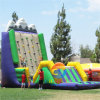 Outdoor Commercial Inflatable Rock Climbing Wall for Sports Game