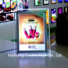 Table Stand Acrylic Poster Frame LED Light Box for Advertising Sign