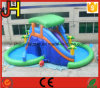 Giant Inflatable Water Slide with Double Pool for Kids