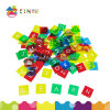 Plastic English Letter Tiles for Language Learning