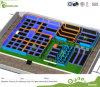 Ce Approved Trampoline Park Kids Big Commercial Indoor Trampoline