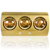 Golden Electric Wall Mounted Bathroom Heater Lamps
