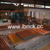 Automatic Brick Making Plant Robot Stacking Bricks on Tunnel Kiln Cart