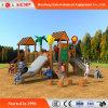 Cartoon Beaitiful Outdoor Playground Funny Slide Equipment (HD-MZ052)