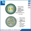 Medium Voltage Copper XLPE/PVC Sheathed Steel Tape Armoured Power Cable