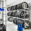 4s Auto Store Tire Rack of Display Storage