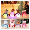 LED Snowman Santa Claus Pendant Christmas Tree Ornaments