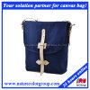 Ladies Simple Fashion Canvas Messenger Bag for Campus