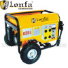6.5HP Portable 2.5kw Kobal Gasoline Generator with Handle and Wheels