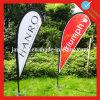 2016 Hot Sale Black Outdoor Stand Teardrop Flag Banner