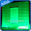 Inflatable Structure 16 Colors Lighting Photo Booth Wall