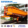 2 Axle U Shape Tipping Semi Trailer/ Tipper for Stone or Sand