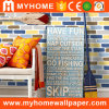 Interior Decor Colorful Brick Wall Paper 3D Wallpaper