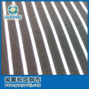 Classic White -and -Black Stripe Polyester Spandex Fabric, for Clothing