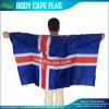 2016 Uefa Iceland Cape Flag (B-NF07F02025)