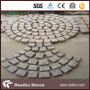 Natural Spilt Curved Paving Stone for Driveway/Garden/Walkway