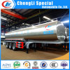 3 Axle Stainless Steel 45000L 30ton Milk Delivery Tank Truck Trailer for Sale