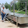 Potato Carrot Vegetable and Fruit Washing Cleaning Machine