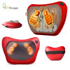Electric Back Massage Pillow Heating Shiatsu Body Massager