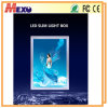 Single Sided Snap Frame LED Slim Light Box Poster Holder Display Board