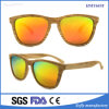 Colorful Wood Color Plastic Frame Unisex Fashion Sunglasses