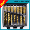 HSS Ti Twist Drill Set 99PCS for Metal Wood Drilling