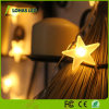 Warm White RGB Flexible Star LED String Light for Chiristmas Decoration