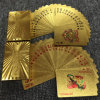 24k Gold Foil PVC Playing Cards Plastic Poker