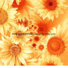 100%Polyester Sun Flower Pigment&Disperse Printed Fabric for Bedding Set