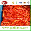 IQF Frozen Red Pepper Strips with FDA Standards