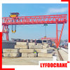 Concrete Beam Handling Double Girder Gantry Crane with Truss