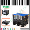 Plastic Collapsible Logistic Pallet Container with/Without Lids
