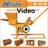 Hr1-30 Soil Clay Brick Making Machine Manual Interlocking Brick Making Machine in Price