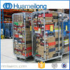 Warehouse Folded Security Wire Mesh Roll Container Manufacturer