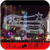 New LED Christmas Motif Cross Street Light with Fancy Star