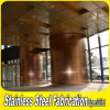 Decorative Stainless Steel Building Column Cladding