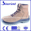 Safety Work Protection Nubuck Leather Footwear with Steel Toe RS7058