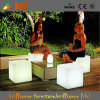 Outdoor Decoration Cube, LED Chairs, LED Cube Chair