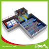 Liben Professional Factorys Indoor Trampoline Plaza with Outdoor Playground