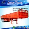 3 Axles 50 Tons Side Wall Open Semi Truck Trailer (600mm wall)