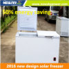 50% Energy Saving Used Commerical for Sale DC Solar Freezer