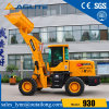 Chinese 1.5 Ton Wheel Loader, Small Payloader, Skid Steer Loader