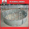 Hot Galvanized Livestock Animal Cattle Horse Bale Hay Feeder