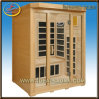 Luxury 3 Person Infrared Sauna Room, Dry Heat Saunas (IDS-3LE1)