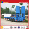 3 Axle 60tons Low Bed Semi Trailer/ Drop Deck Trailer